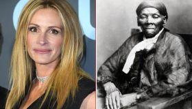 Julia Roberts and Harriett Tubman