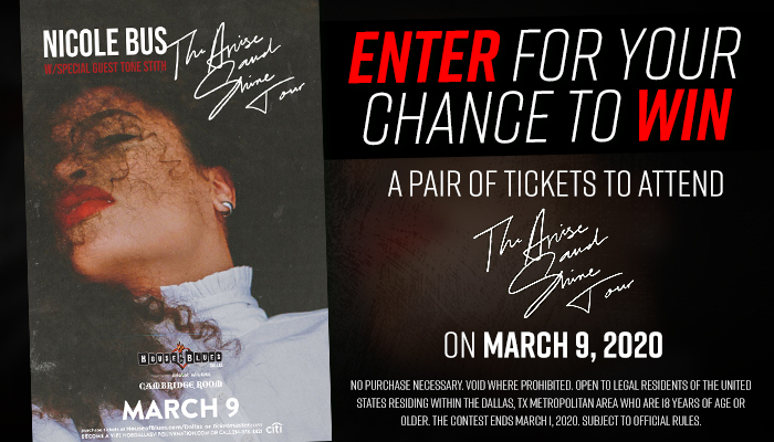 The Arise and Shine Tour contest