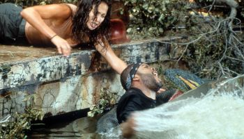 Jennifer Lopez And Ice Cube In 'Anaconda'