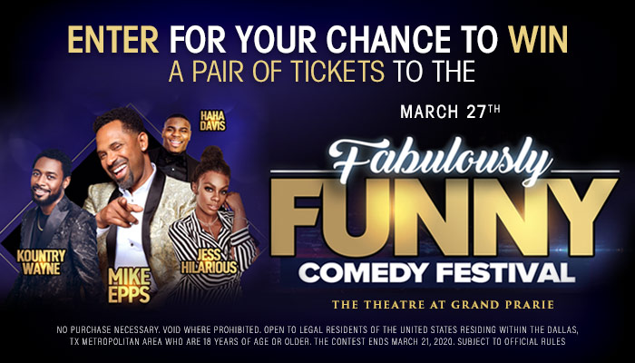 Local: Mike Epps Funny As Ish Online Contest_RD Dallas KBFB_January 2020