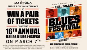 Dallas Blues Festival Online Contest