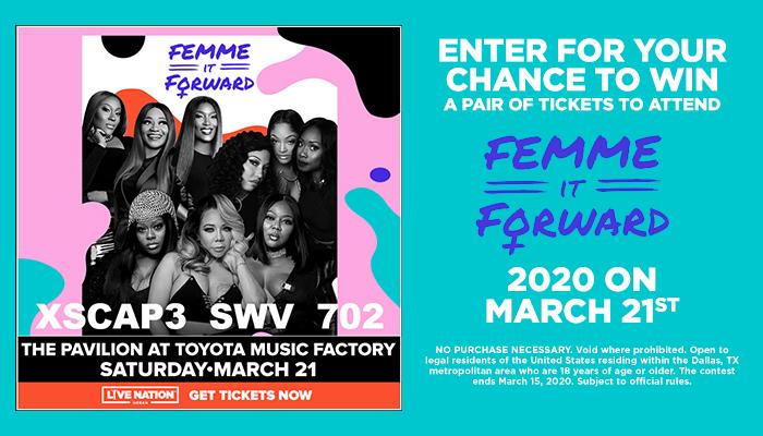 Femme It Forward Online Contest_RD Dallas KZMJ_January 2020