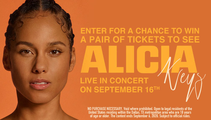Alicia World Tour Online Contest_RD Dallas KZMJ_January 2020