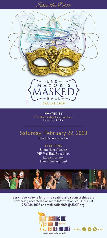 UNCF Mayors Masked Ball