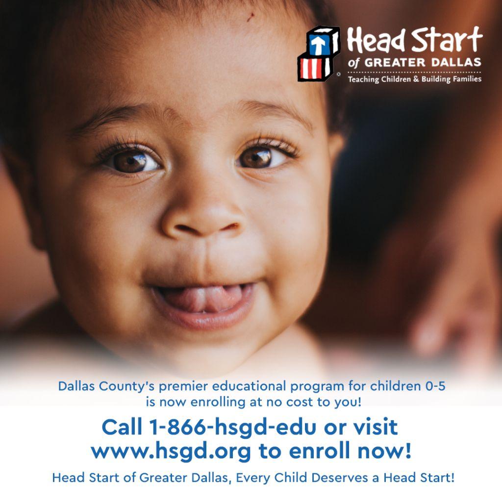 Head Start of Greater Dallas Enrollment